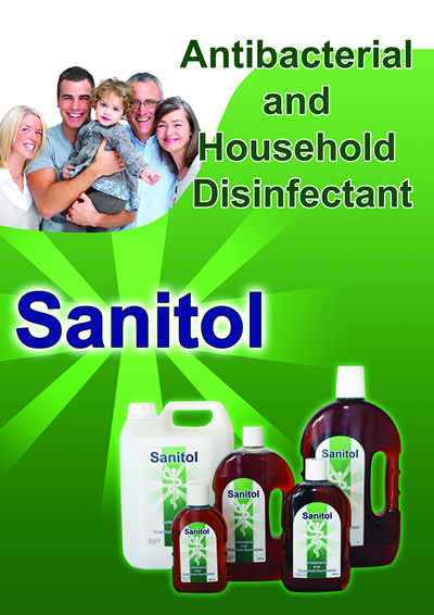 Sanitol Antiseptic Products